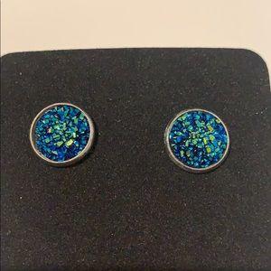 Jewelry - 🧜🏼♀️ Mermaid Druzy Earrings 🧜🏼♀️